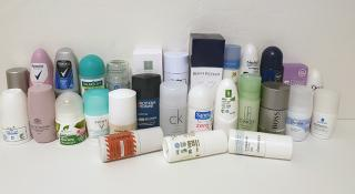 Test of chemicals in deodorants