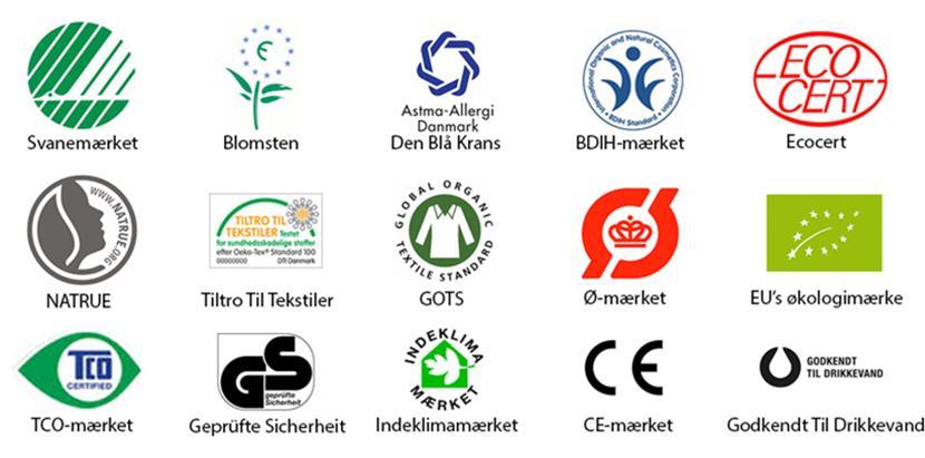 Miljømærker: Få styr på svanen, blomsten og alle de andre