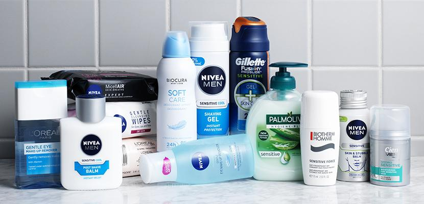 Care products for 'sensitive skin' may contain allergenic substances