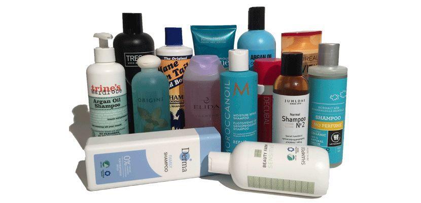 bedste økologiske shampoo