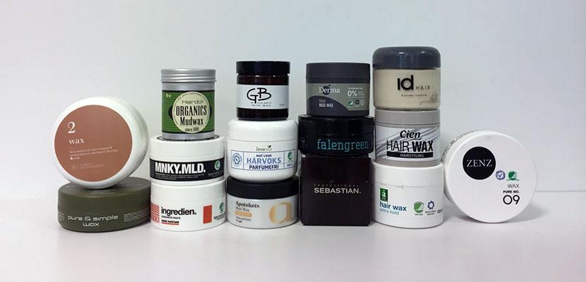 Test: Which chemicals are used in hair wax?