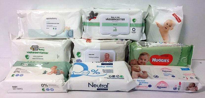 Test: Unwanted chemicals in baby wet wipes