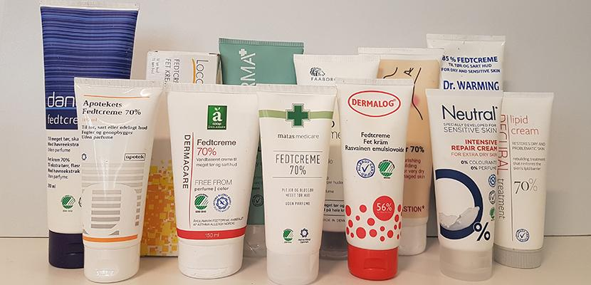 Test of chemicals in fat creams