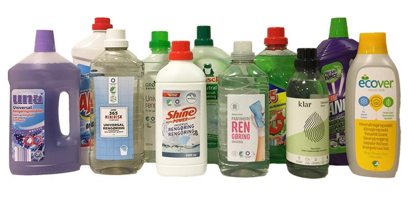 Test: All-purpose cleaning products may contain highly allergenic preservatives